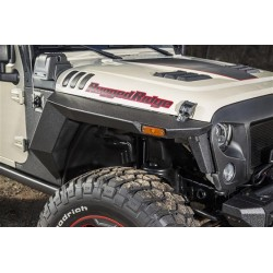 Rugged Ridge Front and Rear Fenders Jeep Wrangler 2 doors 207-2018