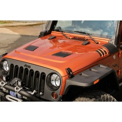 Rugged Ridge Performance Vented Hood Jeep Wrangler 2007-2018