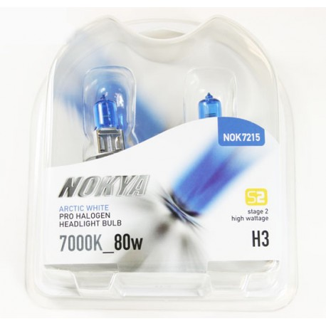 Nokya Headlight / Fog Bulb H3 100 Watts