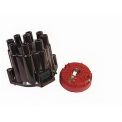 MSD Distributor Cap and Rotor Kit For MSD/GM Points Style Distributors