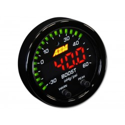 AEM X-Series Boost Pressure Gauge -30in/Hg~60PSI
