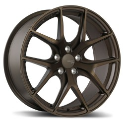"18"" Wheel Set Fast FC04 Matte Bronze finish 18x8 5x114.3 +40mm"