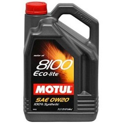 Motul Oil ECO-lite 5 Liters 0w20 100% Synthetic