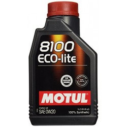 Motul Oil ECO-lite 1 Liter 0w20 100% Synthetic