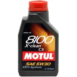 Motul Oil 1 Liter X-Clean C3 5w30 100% Synthetic