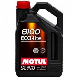 Motul Oil ECO-lite 5 Liters 5w30 100% Synthetic