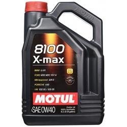 Motul Oil X-Max 5 Liters 0w40 100% Syntetic