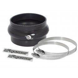 "AFE  Coupling Kit: 4"" ID x 2-1/2"" L Hump (Silicone Black)"