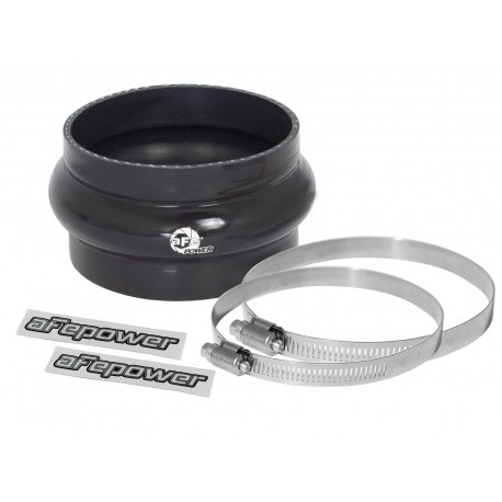 "AFE  Coupling Kit: 4"" ID x 2-1/2"" L Hump (Silicone Black)"