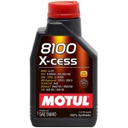 Motul Oil 8100 X-cess 1 Liter 5w40 100% Synthetic