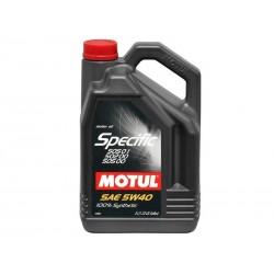Motul Specific 5 Liters 5w40 VW 505 01 502 00
