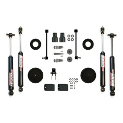 "Teraflex 2.5"" Lift Kit Jeep Wrangler JK Budget Boost W/ 9550 Shocks"