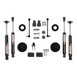 """Teraflex 2.5"""" Lift Kit Jeep Wrangler JK Budget Boost W/ 9550 Shocks"""
