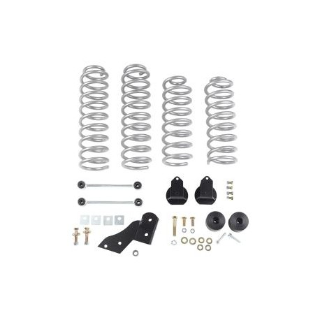 "Rubicon Express 2.5"" Coil Lift Kit Jeep Wrangler JK 2 Doors"