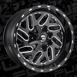"Fuel Triton 20"" Wheel Set Dodge Ram Toyota Tundra 20x10 -18mm"