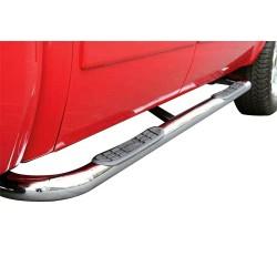 "TrailFX 3"" Nerf Bar 2009+ Dodge Ram Quad Cab Stainless Polish"