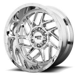 "20"" Moto Metal Ford F250 F350 8x170 20x9 +18mm Chrome"