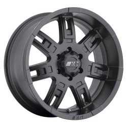 "22""  Mickey Thompson Sidebiter II Matte Black 22X10 GMC Sierra 3500 2001-2006"