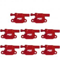 MSD Ignition Coil LS2 LS3 LS4 LS7 LS9 Red