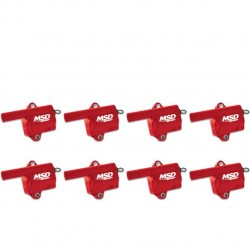 MSD Ignition Coil GM LS Truck Style Red