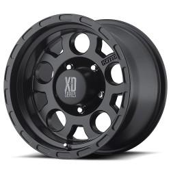 "XD Series 17"" Enduro Jeep Wrangler JK JL 17x9 -6mm 5x127 Matte Black"