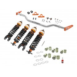 AFE Control PFADT Series Stage 3 Drag Suspension Package Chevrolet Corvette (C5/C6) 1997-2013