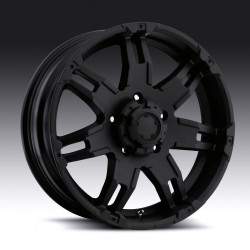 "17"" Ultra Wheel Gaunlet Jeep Wrangler JK Matte Black"