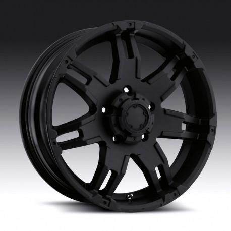"""17"""" Ultra Wheel Gaunlet Jeep Wrangler JK Matte Black"""