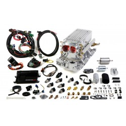 Holley Avenger EFI Stealth Ram™ MPFI Fuel Injection System (Polished), Small Block Chevy 1995 and earlier heads