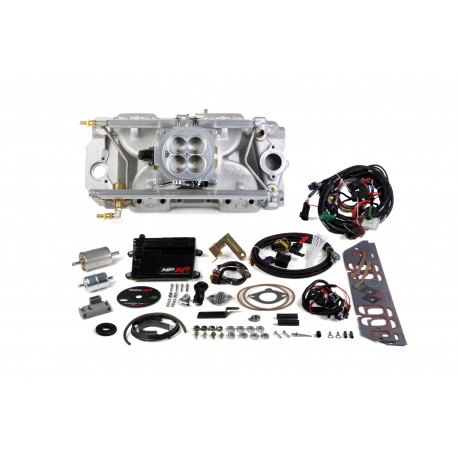 Holley HP EFI 4bbl Multi-Port Fuel Injection System Big Block Chevy Engines With Rectangle Port Heads