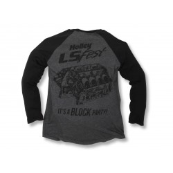 "Holley LS Fest ""Its a Block Party"" Baseball Tee SMALL"