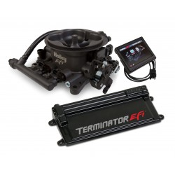 Holley Terminator EFI 4 BBL Kit w/Transmission Control-Hard Core Gray