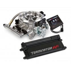 Holley Terminator EFI 4 BBL Kit w/Transmission Control-Polished Aluminum