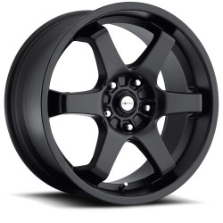 "17"" Ultra Wheel Set 421 Honda Mazda Nissan Subaru Wheels 5x114.3 / 5x100 Black"