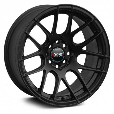 "17"" XXR Wheel Set Honda Mazda Subaru 17x7"" +35mm 5x114.3 / 5x100 Flat Black"