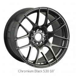 "18"" XXR Wheel Set Honda Mazda Subaru 18x7.5"" +38mm 5x114.3 / 5x100 Chromium Black"