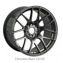 """18"""" XXR Wheel Set Honda Mazda Subaru 18x7.5"""" +38mm 5x114.3 / 5x100 Chromium Black"""