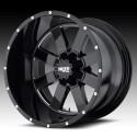 """20"""" Moto Metal Ford F250 F350 Wheel Set Black 20x9 8x170 0mm"""