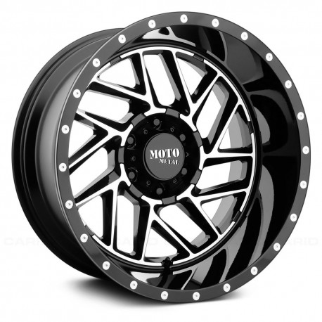 "Moto Metal 20"" Ford F250 F350 Wheel Set MO985 20x9 +18mm 8x170"