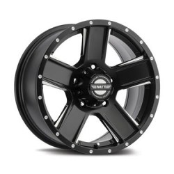 "15"" Mickey Thompson SD-5 Satin Black 15X10 5X4.50"