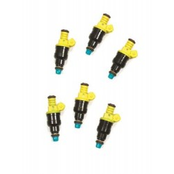 Accel Fuel Injector 15 Pounds Per Hour Flow Rate Bosch Style 14.4 Ohms Impedance Set of 6 Chevrolet Cavalier 1985-1994
