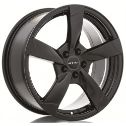 "RTX 18"" Wheel Set Audi A3 A4 A6 Jetta Golf 5x112 +35mm Black"