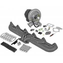 AFE BladeRunner Street Series Turbocharger w/ Exhaust Manifold Dodge Diesel Trucks 1994-1998 L6-5.9L