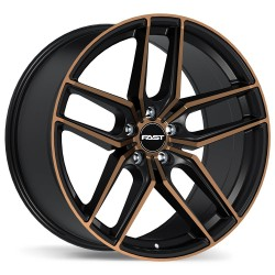 "18"" Fast Wheel Set Honda Mazda Lexus Kia Hyundai 18x8.5 +40mm"