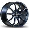 "18"" Fast Wheel Set Honda Mazda Lexus Kia Hyundai 18x8 +35mm Matte Blue"