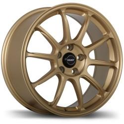 "18"" Fast Wheel Set Honda Mazda Lexus Kia Hyundai 18x8 +35mm Matte Gold"
