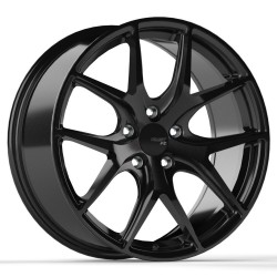 "18"" Wheel Set Fast FC04 Black finish 18x8 5x114.3 +40mm"