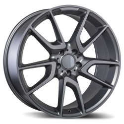 "Replica 19"" Wheel Set Audi Volkswagen 5x112 +40mm Matte Gun Metal"