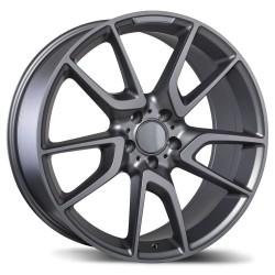 """Replica 19"""" Wheel Set Audi Volkswagen 5x112 +40mm Matte Gun Metal"""