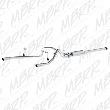 MBRP Cat Back Dual 2015-2018 Ford F150 2.7/3.5 Ecoboost Stainless